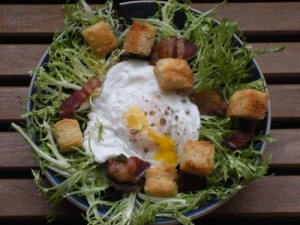 I could eat a Bistro Salad with real brioche croutons for dinner almost every night.
