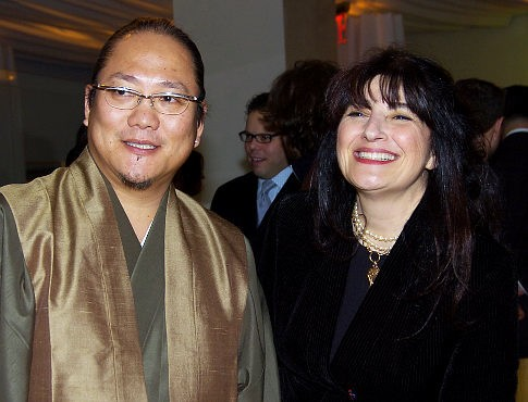 Ruth Reichl - the former Gourmet editor - here with Masaharu Morimoto  - spoke to the ways Japan has influenced American cuisine.